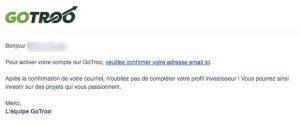 Confirmer votre courriel